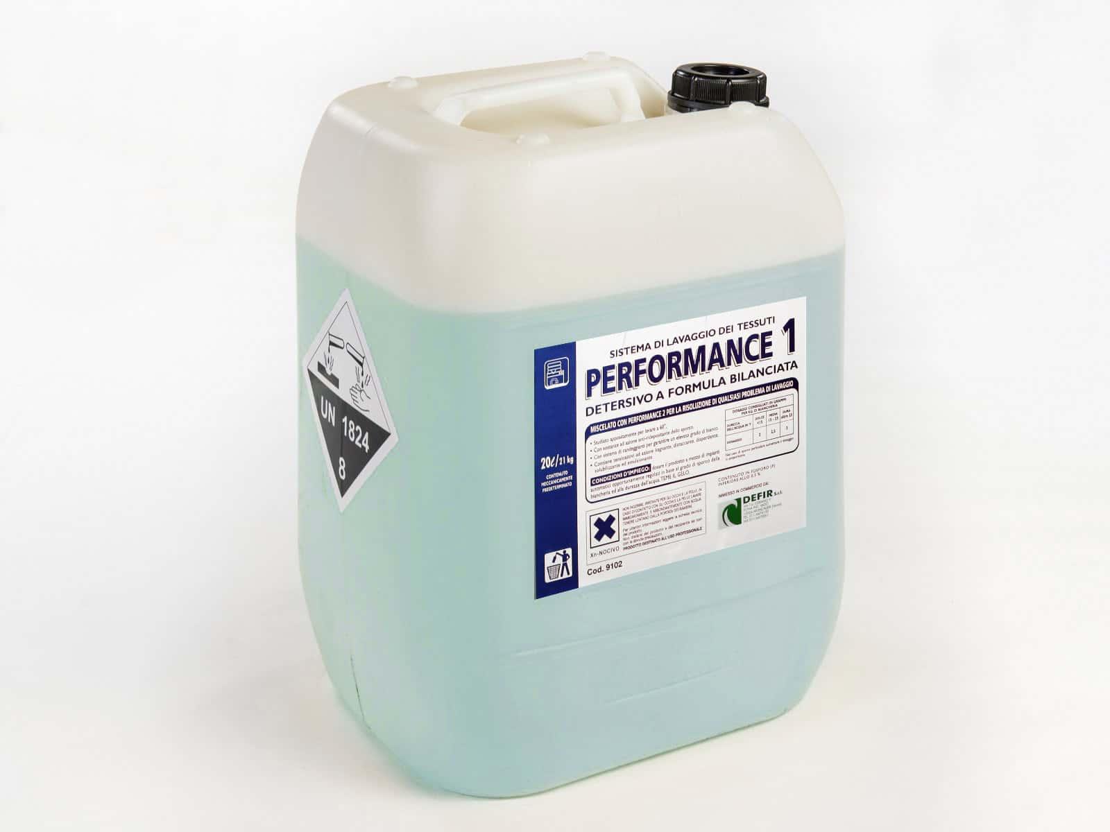 Performance 1 lavaggio tessuti industriale 21kg - Defir detergenti Moncalieri Torino