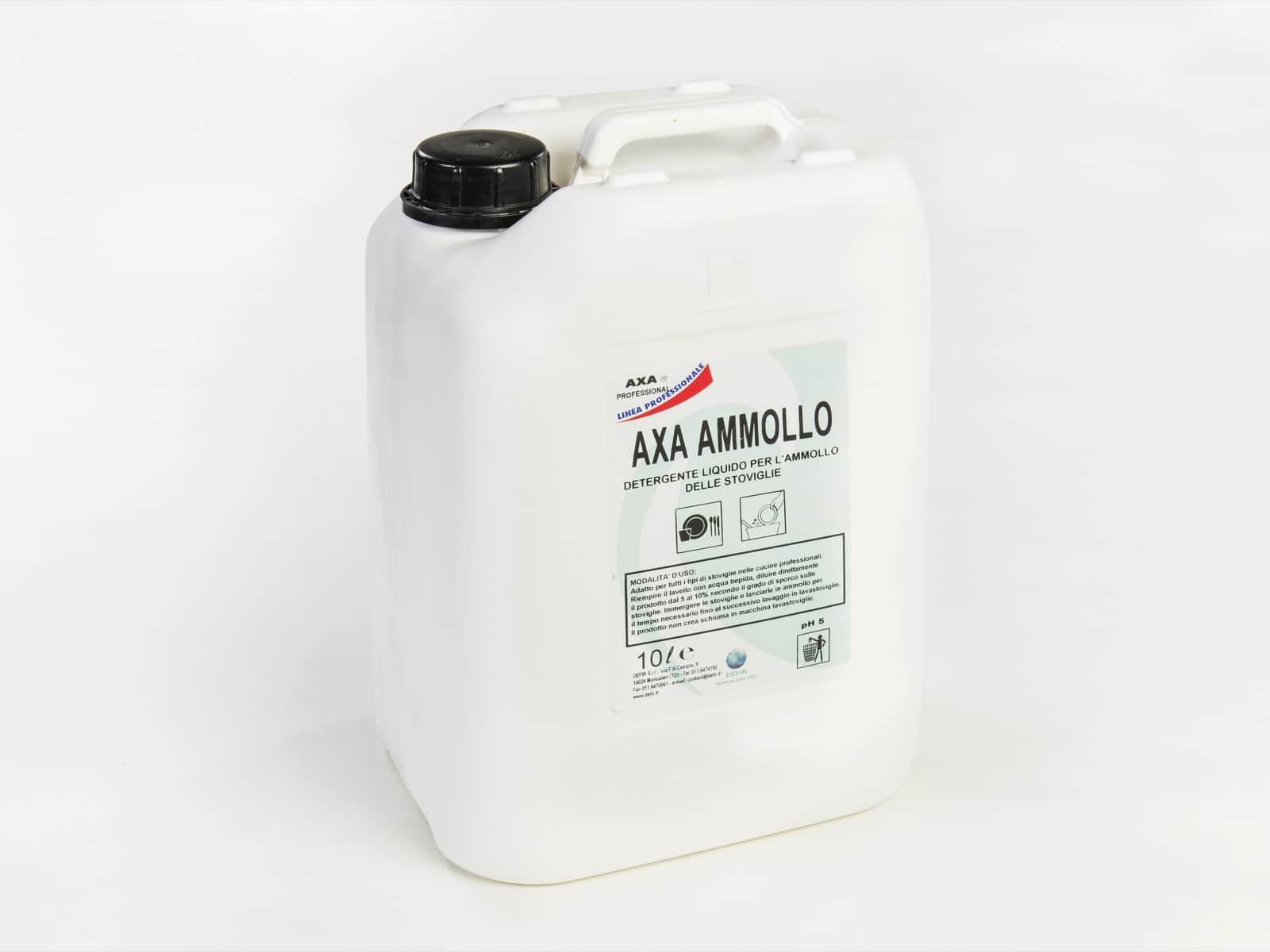 Axa Ammollo detersivo lavastoviglie 10L - Defir detergenti Moncalieri Torino