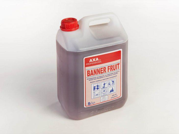 Axa Banner Fruit detergente pavimenti profumato 5L - Defir detergenti Moncalieri Torino