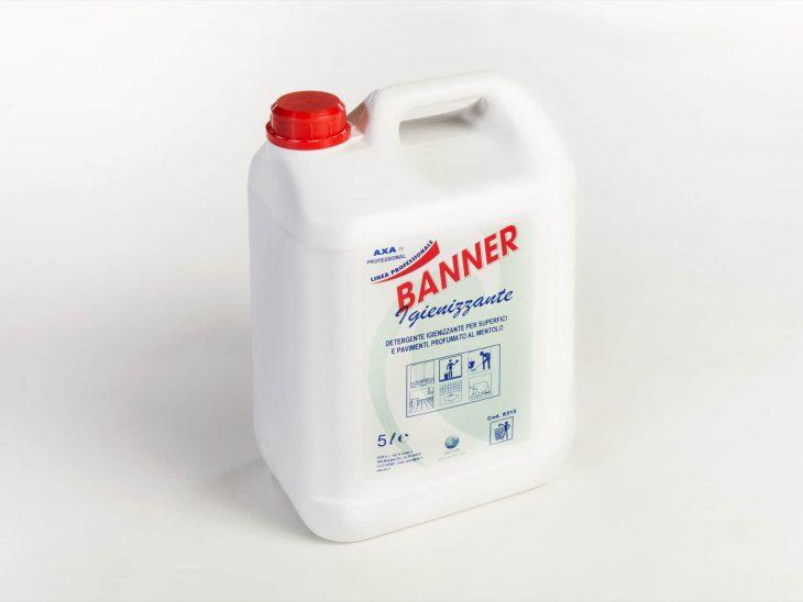 Axa Banner Igienizzante detergente superfici 5L - Defir detergenti Moncalieri Torino