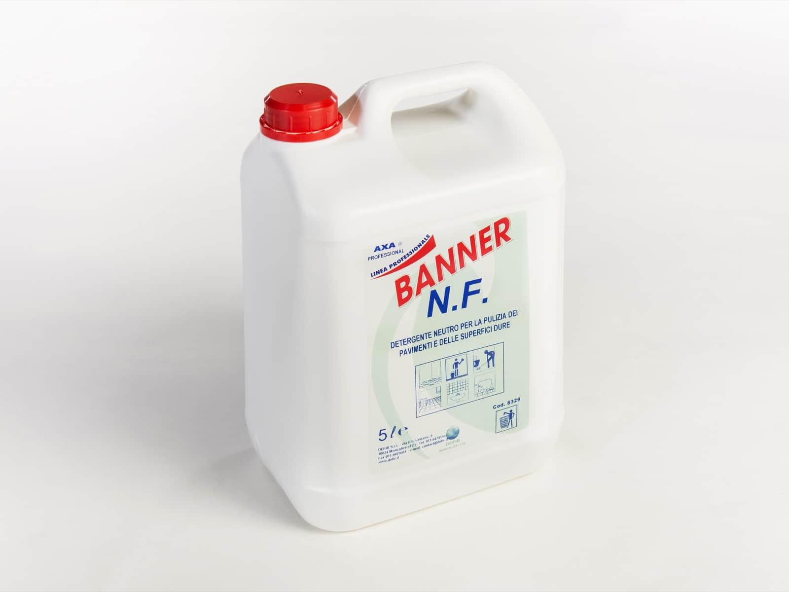 Axa Banner NF detergente pavimenti 5L - Defir detergenti Moncalieri Torino