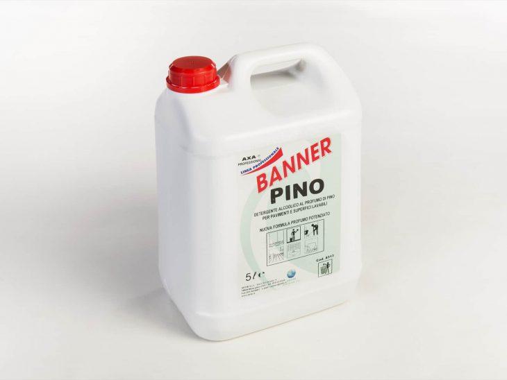 Axa Banner Pino pulizia superfici pavimenti 5L - Defir detergenti Moncalieri Torino