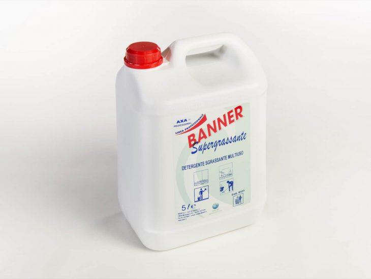 Axa Banner Supersgrassante pulizia pavimenti 5L - Defir detergenti Moncalieri Torino