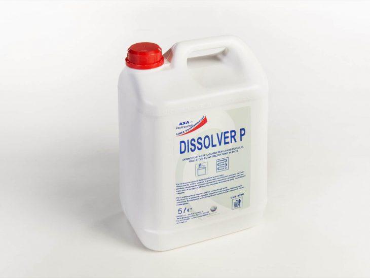 Axa Dissolver P disincrostante lavastoviglie e inox 5L - Defir detergenti Moncalieri Torino
