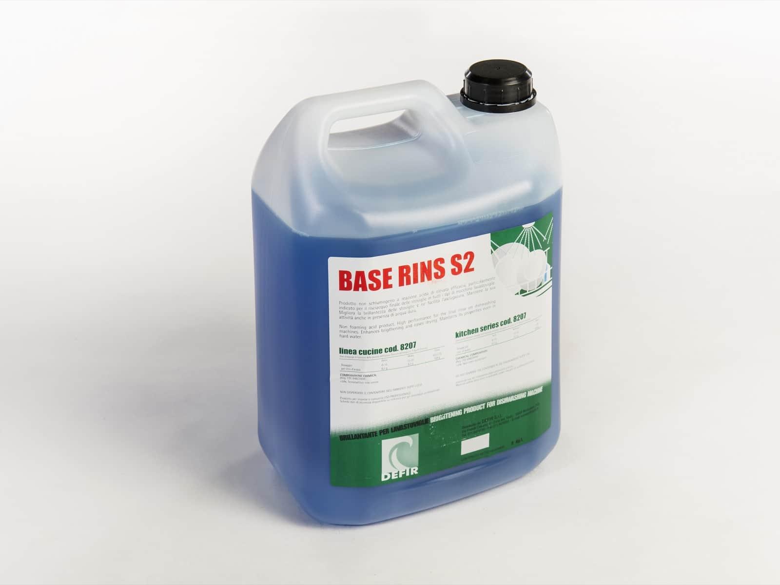Base Rins S2 cucine 5L - Defir detergenti Moncalieri Torino