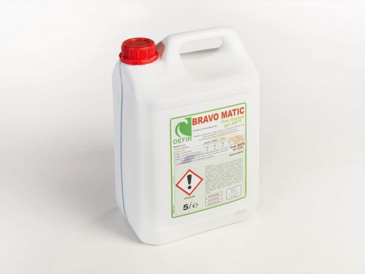 Bravo Matic Enzimi detersivo mano lavatrice 5L - Defir detergenti Moncalieri Torino