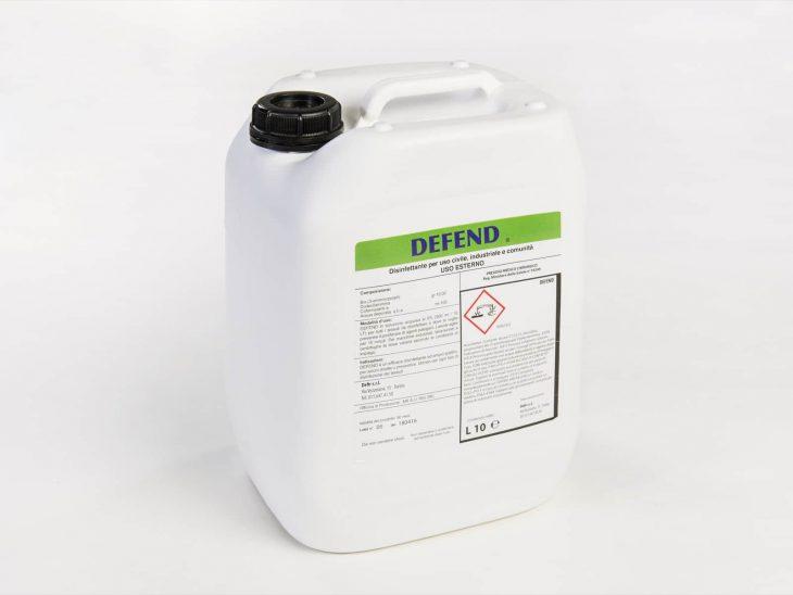 Defend disinfettante 10L - Defir detergenti Moncalieri Torino