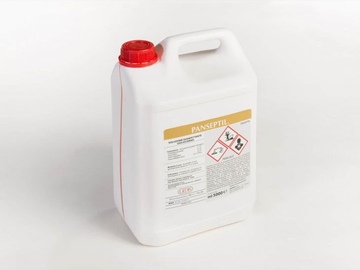 Gedis Panseptil disinfettante 5L - Defir detergenti Moncalieri Torino