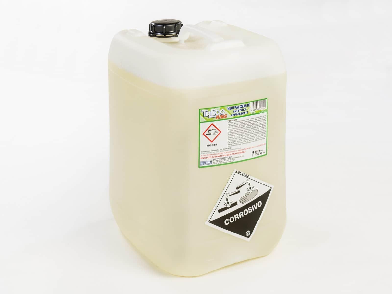 Treco Rins neutralizzante ammorbidente 24kg - Defir detergenti Moncalieri Torino