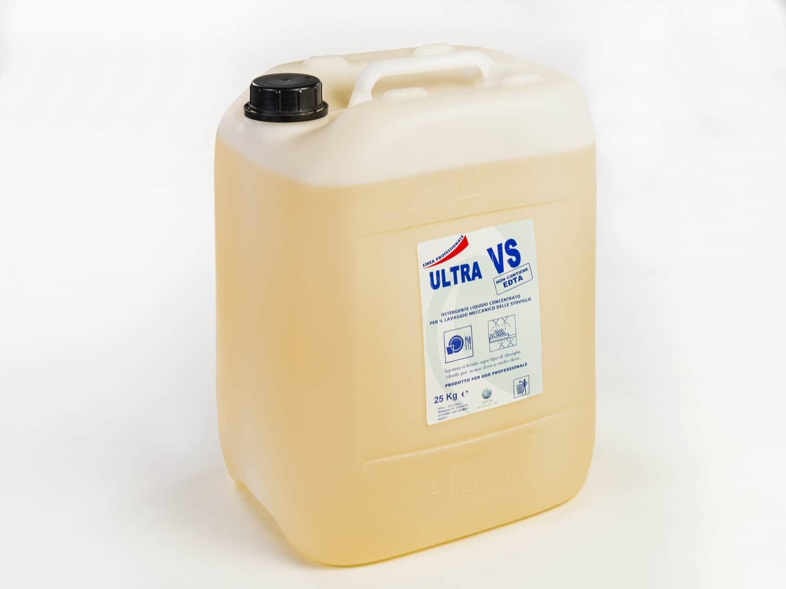 Ultra VS detersivo concentrato lavastoviglie professionale 25kg - Defir detergenti Moncalieri Torino