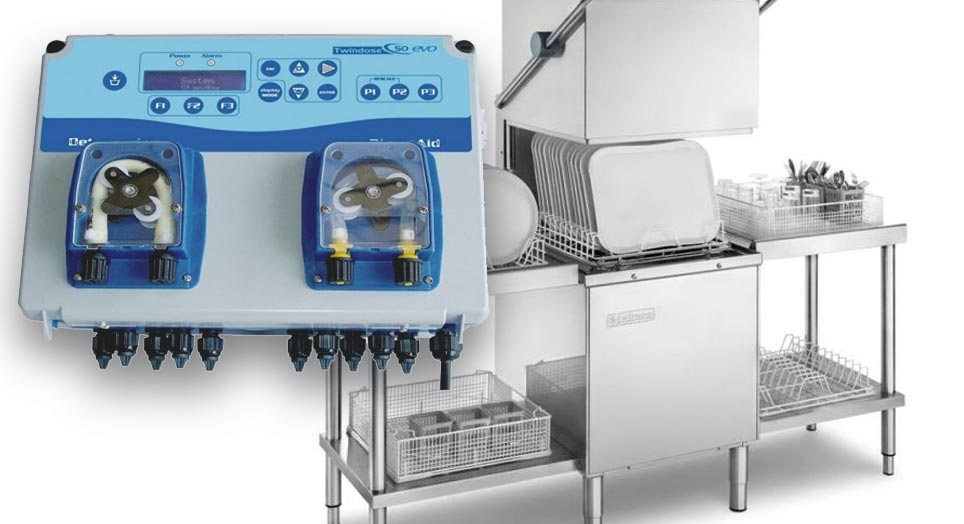 Dosatori detersivi lavastoviglie cucine industriali - Defir detergenti Torino